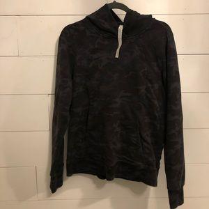 Scuba Pullover In Incognito Camo Multi Grey/10